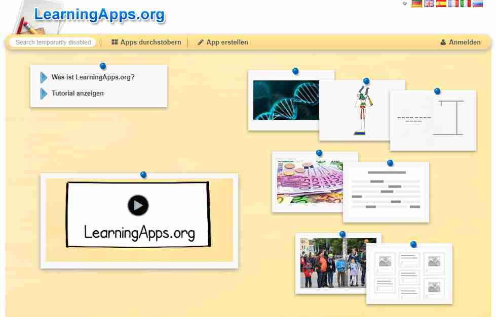 learning apps org
